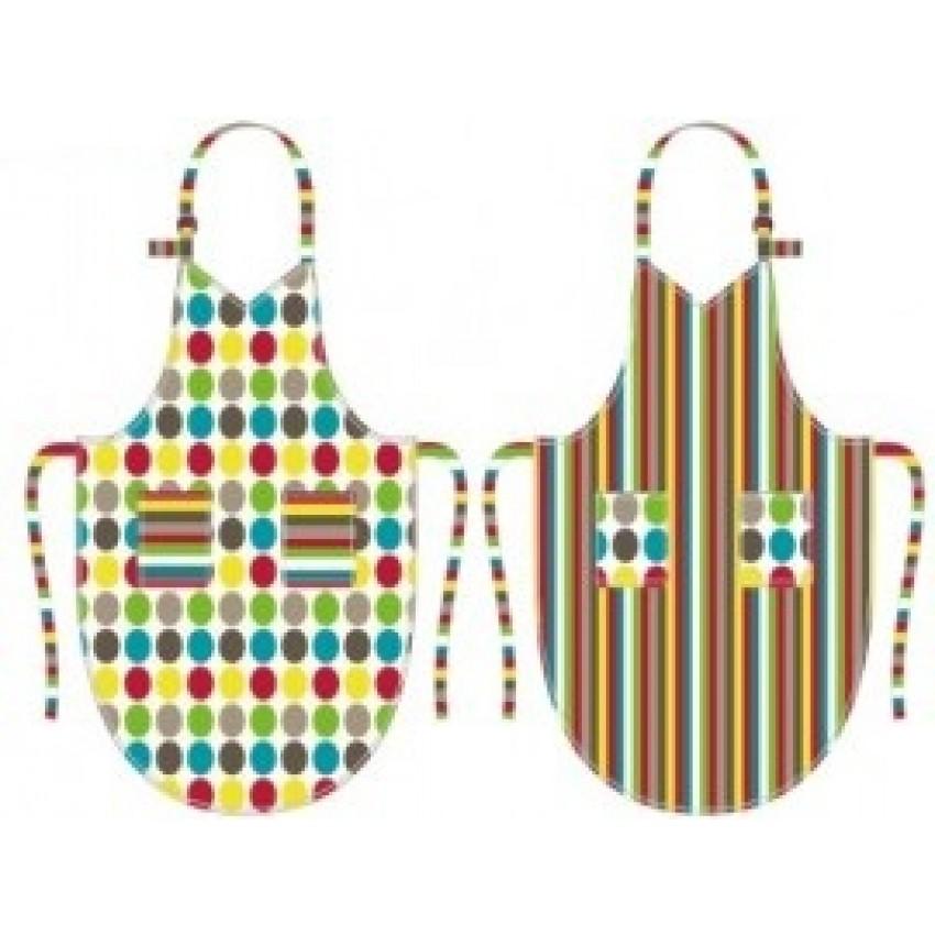 Tablier r versible pour enfant cuisina for Tablier de cuisine ricardo