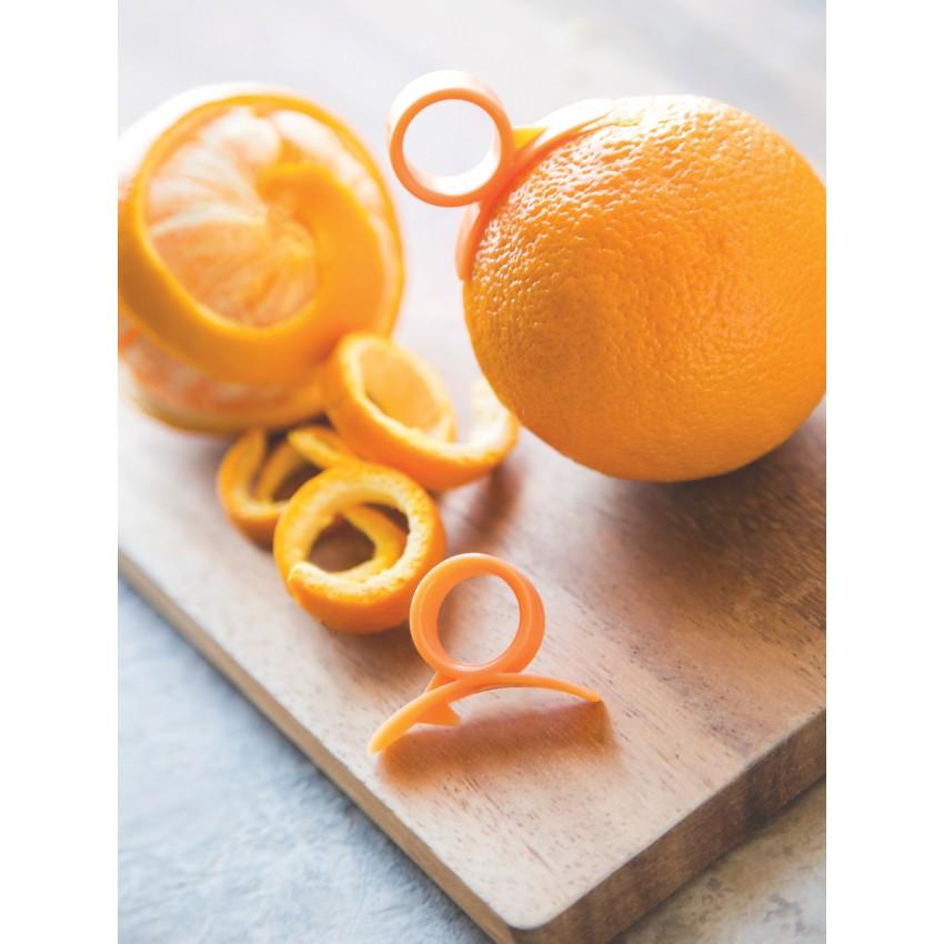Plucheur pour orange cuisina - Pelure d orange pour parfumer ...