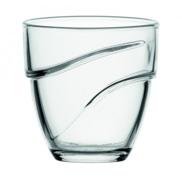 ENSEMBLE DE 4 VERRES 266 ML WAVE