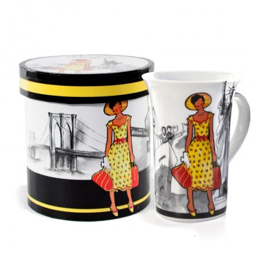 TASSE EN PORCELAINE 415 ML NEW YORK
