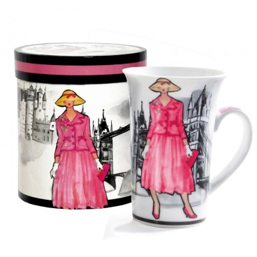 TASSE EN PORCELAINE 415 ML LONDON