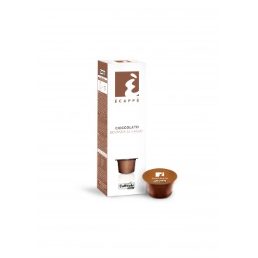 CAPSULES À CHOCOLAT CHAUD CIOCCOLATO BOITE DE 10 CAFFITALY