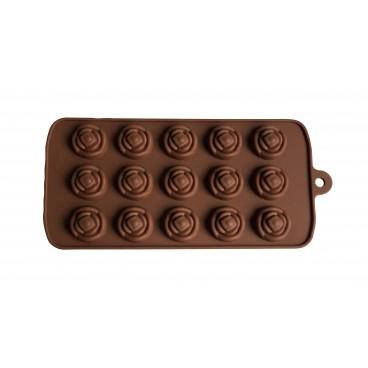 MOULE À CHOCOLAT EN SILICONE FORME FLEURS
