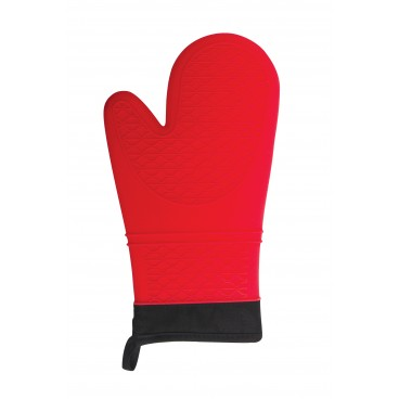MITAINE ROUGE 33 CM EN SILICONE COOL TOUCH