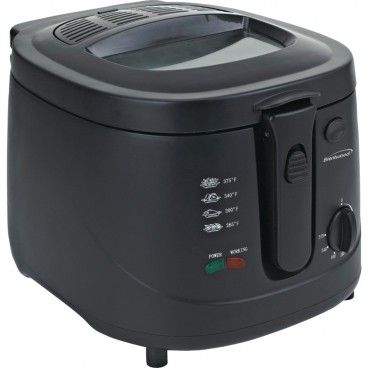 FRITEUSE NOIRE 2.5 LITRES 1500 WATTS BRENTWOOD