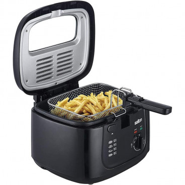 FRITEUSE NOIRE 2.5L 1500 WATTS COOL TOUCH