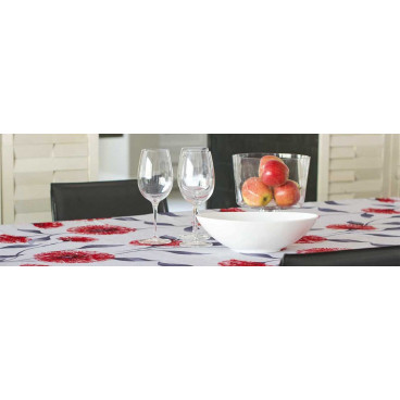 NAPPE RONDE 70 PO DANDY ROUGE