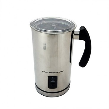 MOUSSEUR À LAIT JUMBO 500 ML 650 WATTS INOX. COOL KITCHEN PRO