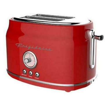 GRILLE-PAIN 2 TRANCHES 900 WATTS RETRO ROUGE FRIGIDAIRE
