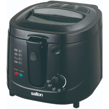 FRITEUSE NOIRE 2.5 LITRES 1500 WATTS COOL TOUCH