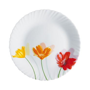 ASSIETTE À DÎNER 25 CM OPAL FLOWERLY