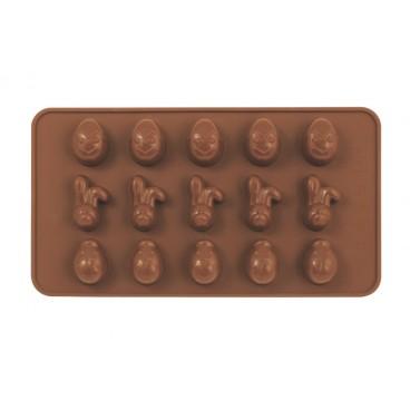 MOULE À CHOCOLAT EN SILICONE POUR PÂQUES