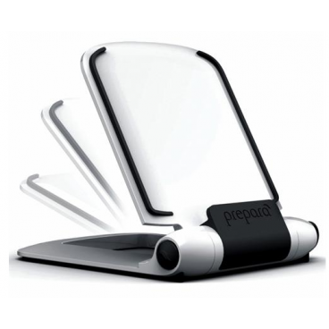 SUPPORT POUR TABLETTE/STYLET BLANC