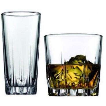 ENSEMBLE DE 12 VERRES KARAT BASIC
