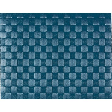 TAPIS DE TABLE 30 CM X 40 CM GRIS BLEU SALEEN