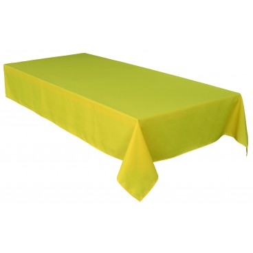 NAPPE RONDE 58 PO JAUNE SOFT TOUCH